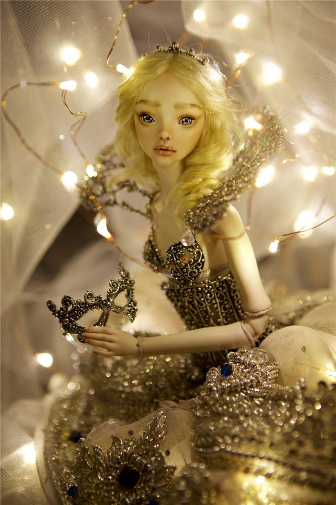 被施了魔法的娃娃-眼里的灵魂,告诉你什么是高定