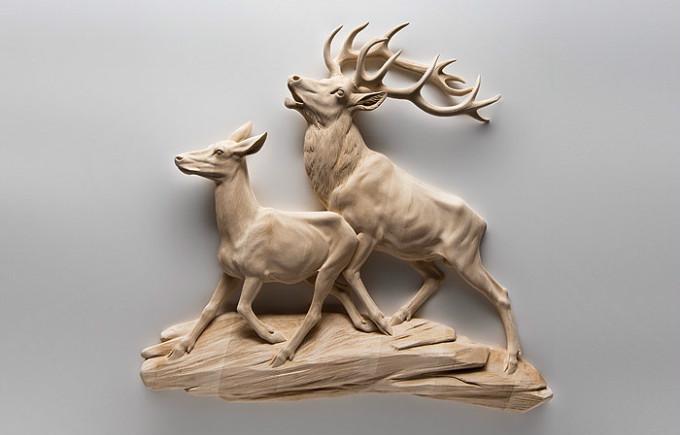 一把雕刻刀雕了30年,他成了最伟大的动物雕塑家