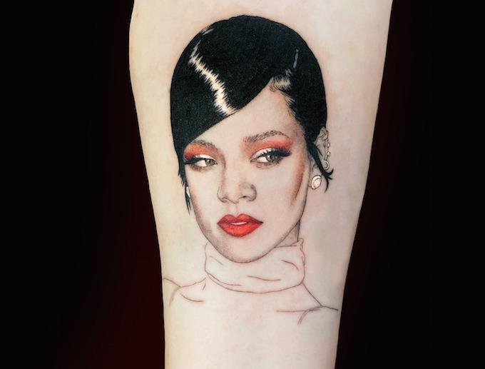 被《中国有嘻哈》的纹身迷倒!咱来次说纹就纹的tattoo图片