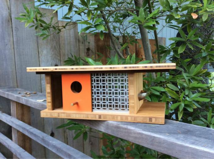 """日本:两住鸟巢 由日本设计工作室nendo组织的""""bird-apartment""""项目"""