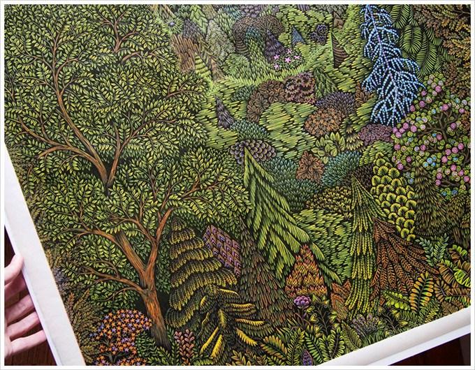 在匹兹堡有一个国际公认的艺术家工作室, 是专门从事传统手工木版画
