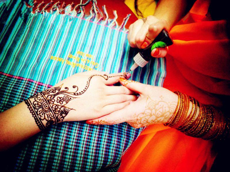 零基础-传统天然印度汉娜手绘体验课
