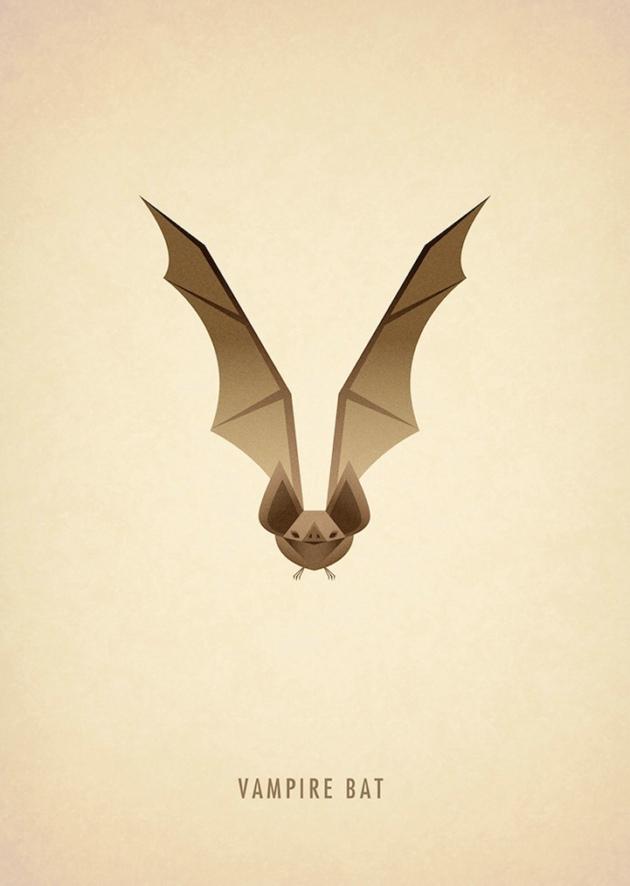 动物创意字体设计
